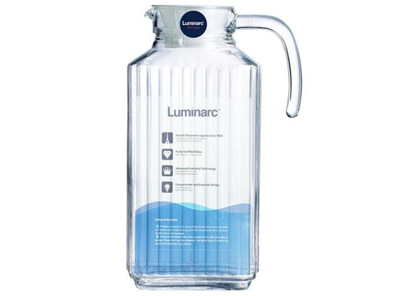 Bình nước thủy tinh Luminarc Quadro