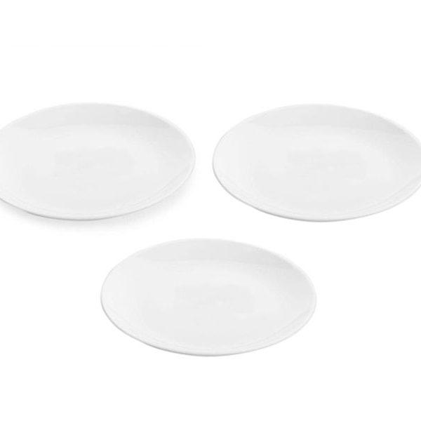 Bộ 3 đĩa thủy tinh Luminarc Diwali