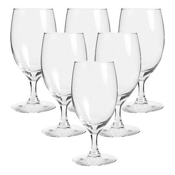 Bộ 6 Ly rượu thủy tinh Luminarc Multi Purpose Raindrop