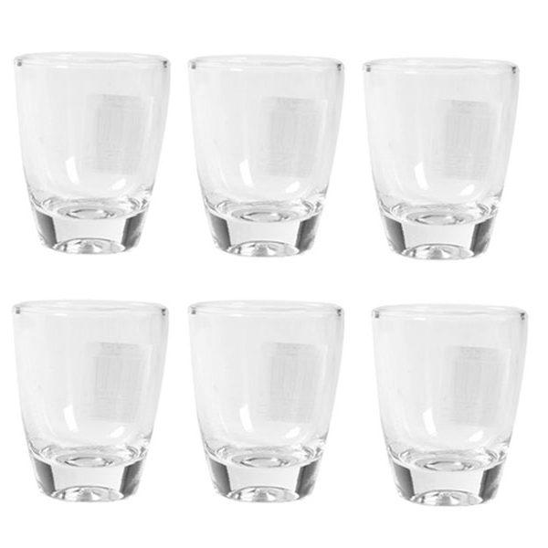 Bộ 6 ly rượu thủy tinh Luminarc Gin Shot
