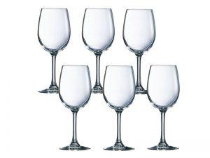 Bộ 6 Ly Rượu Vang Thủy Tinh Luminarc Savoie
