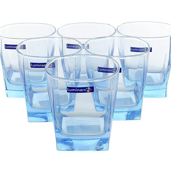 Bộ 6 ly thủy tinh Luminarc Sterling Ice Blue