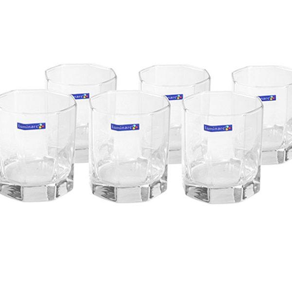 Bộ 6 ly thủy tinh thấp Luminarc Octime
