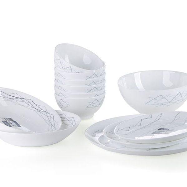 Bộ bàn ăn thủy tinh Luminarc Diwali Marble Small