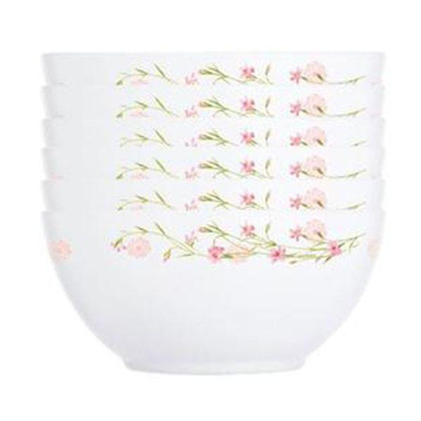 Bộ 6 Chén thủy tinh Luminarc Diwali Romance Pink